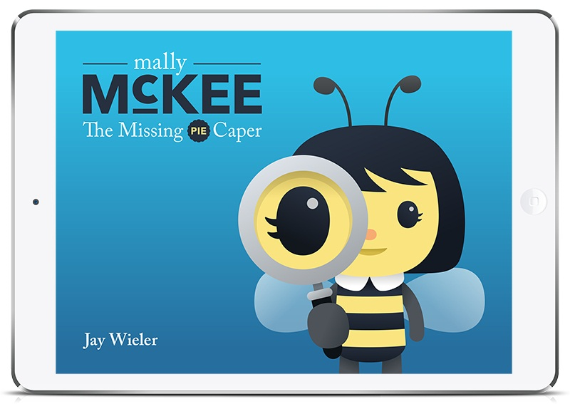 Cover for Mally McKee: The Missing Pie Caper