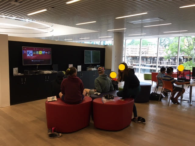 Halifax Central Library Gaming Station