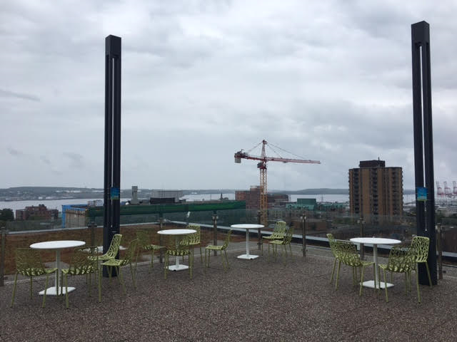 Halifax Central Library Rooftop Patio