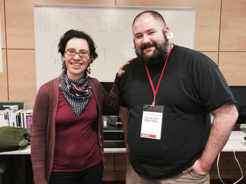 Innovator in Residences Sarah Goodman and Derek Quenneville
