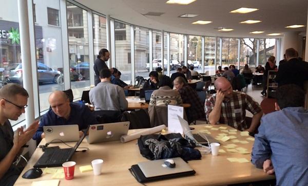 Hackathon Participants At Work