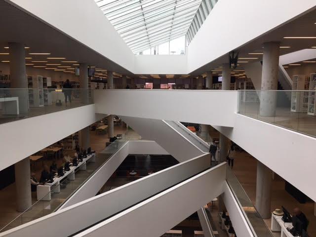 Halifax Public Library Atrium