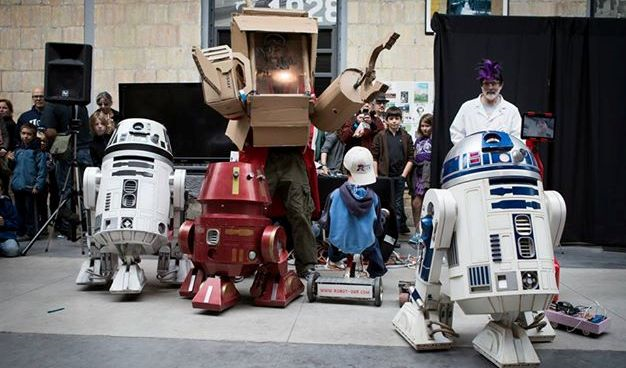 Robots will greet guests at the Toronto Mini Maker Faire.