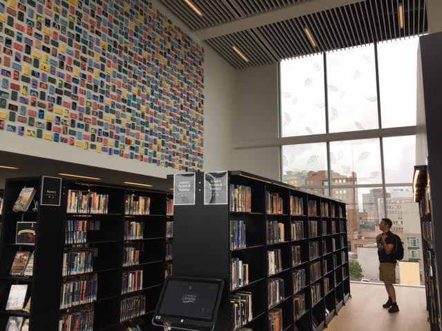 Halifax Central Library Shelving
